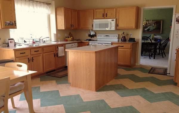 Model lantai keramik dapur