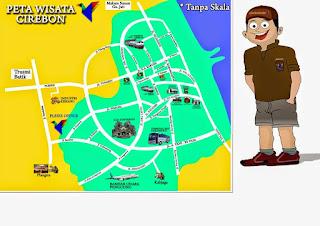 Peta Wisata Cirebon