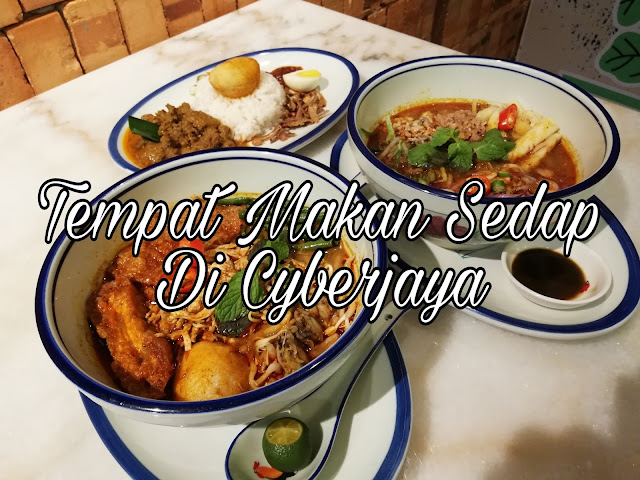 Asam Laksa Terbaik di Restoran Mangkuk Ayam, D'Pulze Cyberjaya