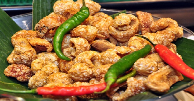 Filipino Chicharon Baboy (Pork Skin Cracklings) Recipe