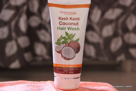 Patanjali Coconut Hair Wash for dry hair