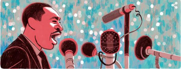Doodle de Google el 18 de enero del 2016