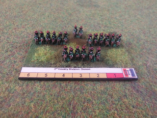 French cavalry for Blucher