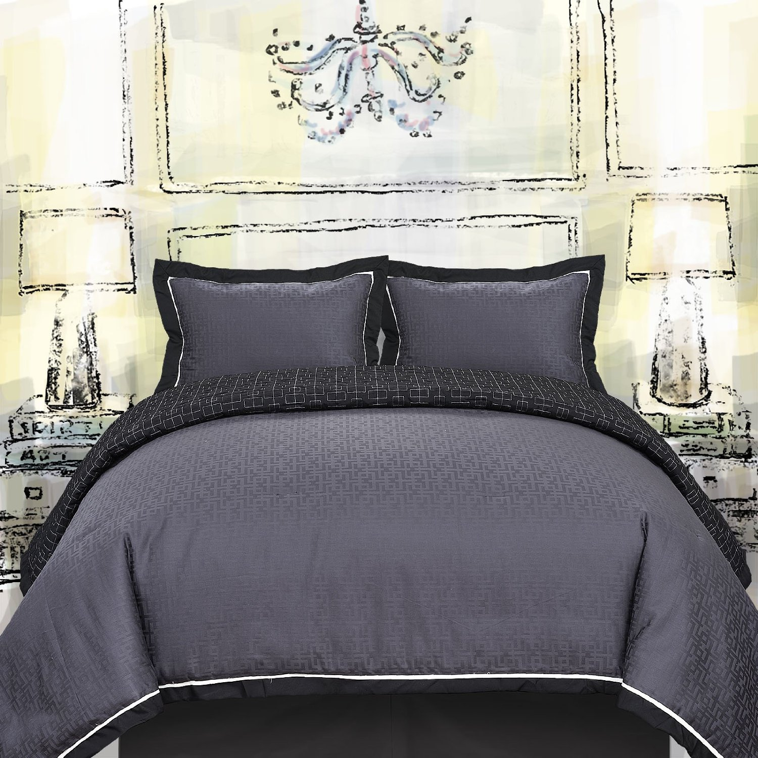Charcoal Grey Bedding Charcoal Grey Comforter And Bedding Sets