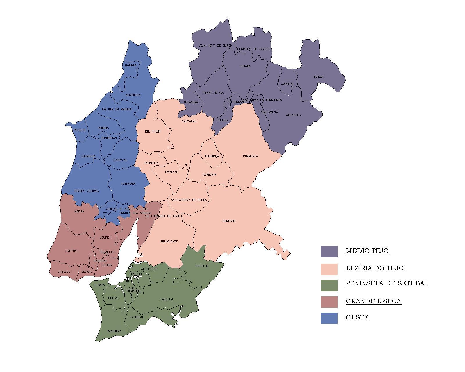 mapa da região de lisboa O António Maria: A caminho da Grécia? mapa da região de lisboa