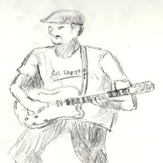 guitariste fête de la musique
