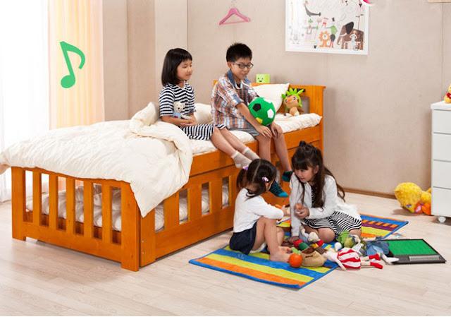 giường đa năng dành cho trẻ em