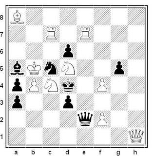 Problema de mate en 2 compuesto por Luis Gómez Palazón (2º Recomendado, Memorial Kozlov-120, 2017)