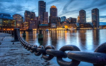 Wallpaper: Boston View