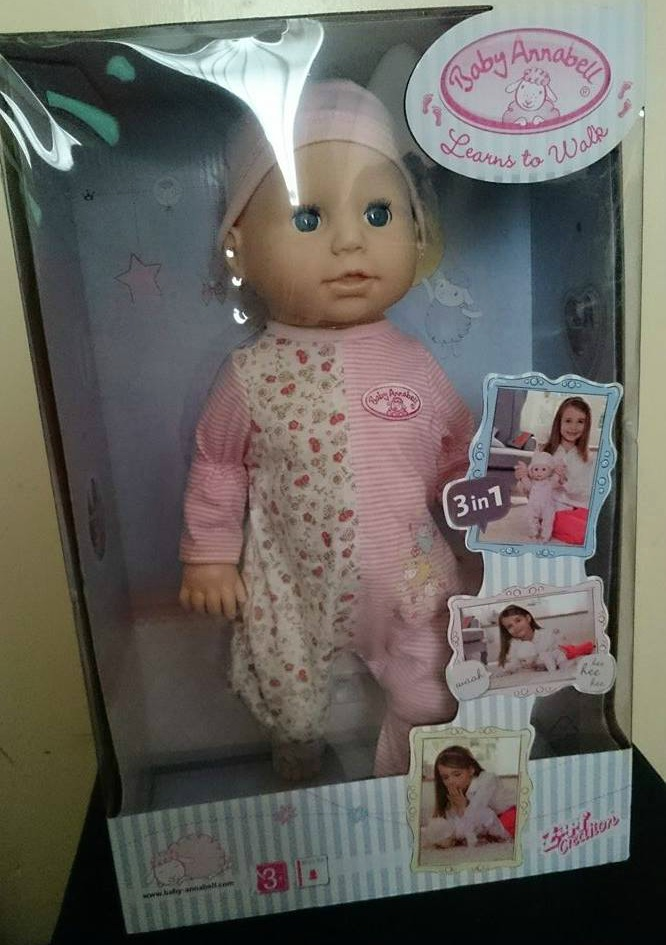 Baby Annabell Learns to Walk - Review | Mum of a Premature ...