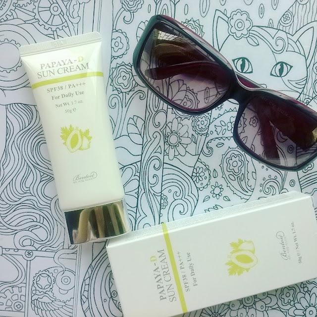 [Review] BentonPapaya-D Sun Cream