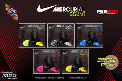 PES 2017 Nike Mercurial GS360 by AK-RF Mods