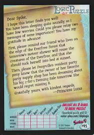 MLP Princess Luna Series 4 Trading Card