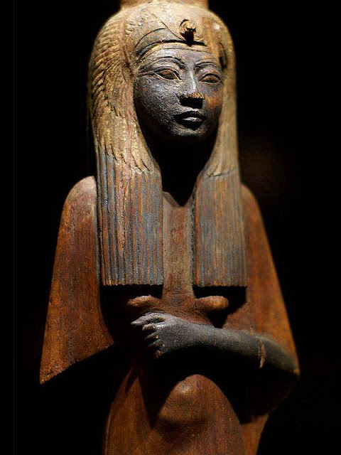 'Queens of the Nile' at the Rijksmuseum van Oudheden, Netherlands