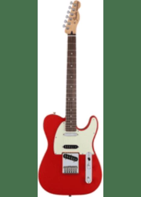 Harga Gitar Fender Deluxe Nashville Telecaster Faded Fiesta Red dengan review dan Spesifikasi Januari 2018