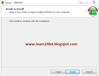 Click Install smadav