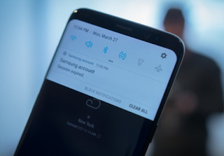 How to turn off Galaxy Apps notifications on the Galaxy S8