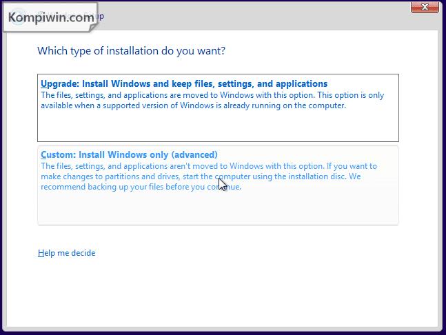 Cara Instal dan Instal Ulang Windows 10, 7, 8, 8.1 lewat Flashdisk/DVD + Video Tutorial 5