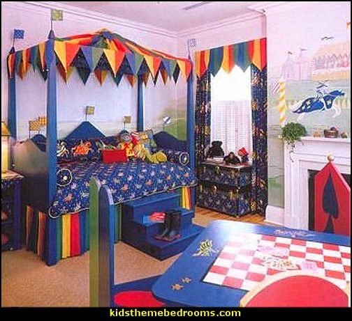 Medieval-Knights & Dragons decorating ideas - knights castle decor - knights and dragons theme rooms - dragon theme decor - prince decor - medieval castle wall murals - knights and dragons baby bedding - Knights Medieval bedding - dragon bedding - dragon murals - dragon themed bedroom ideas