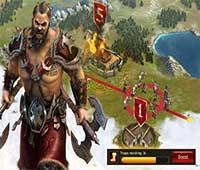 لعبة الحرب الاستراتيجية Vikings War of Clans