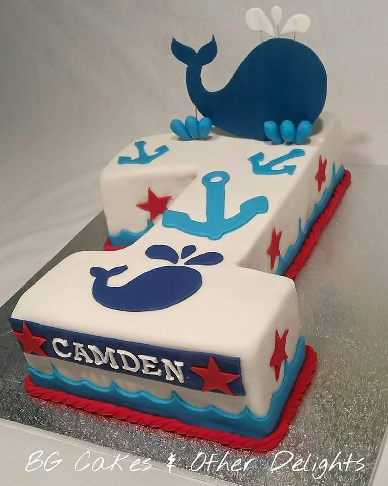 Cakes And Other Delights: 1st Birthday......Nautical