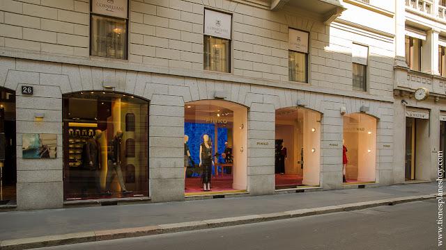 Moda Milán viaje tiendas ver que hacer Italia turismo