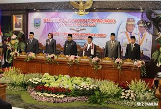 Sertijab Bupati Dan Wakil Bupati Probolinggo Berjalan Sukses
