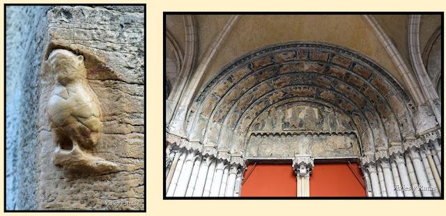 La Chouette e Iglesia Notre Dame de Dijon