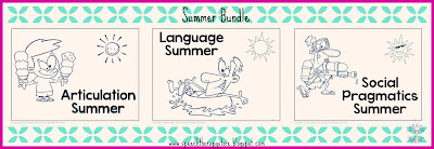 Speech Therapy Summer