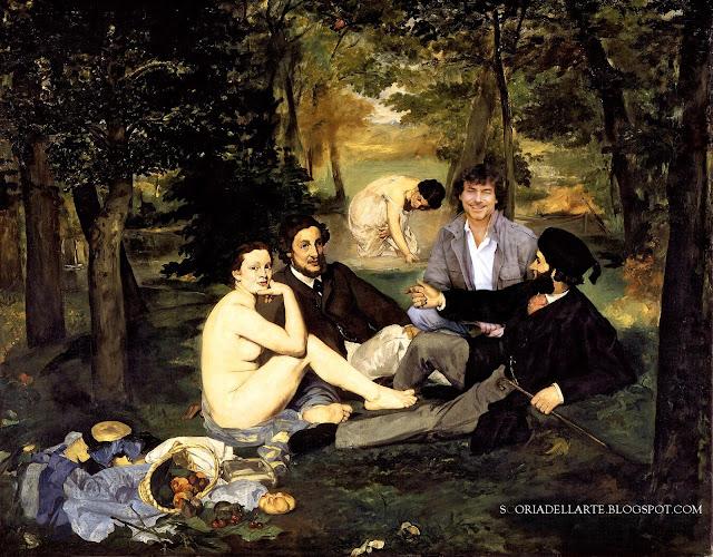 Alberto Angela nei dipinti classici- Colazione sull'erba-Manet
