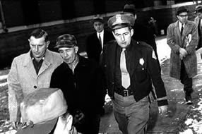 Photo de l'arrestation d'Ed Gein