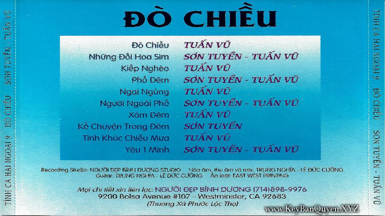 Tuấn Vũ - Sơn Tuyền - Album Đò Chiều (1993)[FLAC]