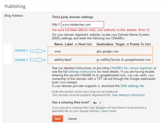 Redirect Blogger Blog to Custom Domain of Godaddy 2017