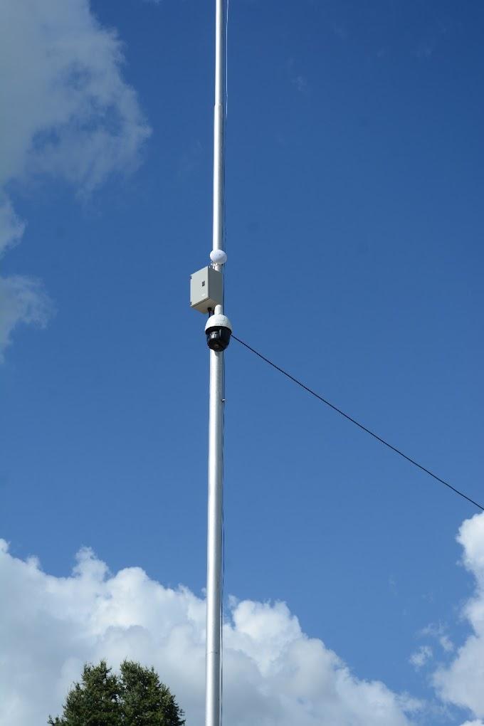Pavón Arriba, se instalaron 3 nuevas cámaras de seguridad