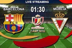 Live Streaming Barcelona vs Murcia 30 November 2017