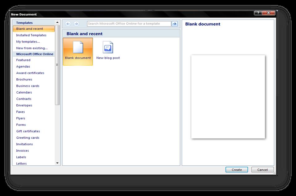 Panduan Penggunaan Microsoft Office Word 2007 - Bagian 1