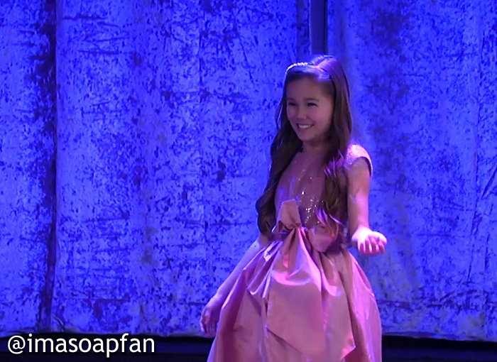 Emma Drake, Brooklyn Rae Silzer, GH, General Hospital, Nurses Ball