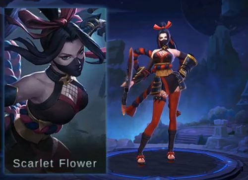 Wallpaper Mobile Legends Hanabi