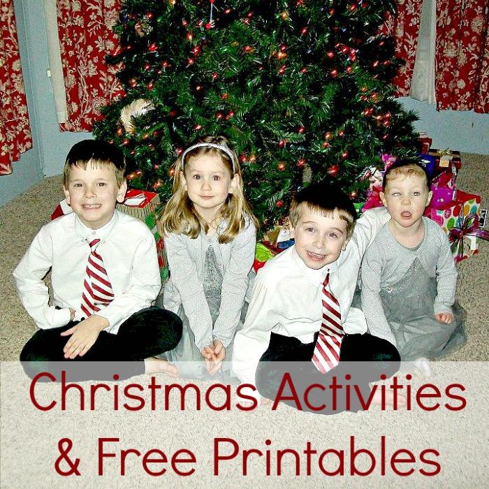 Christmas Activities & Free Printables