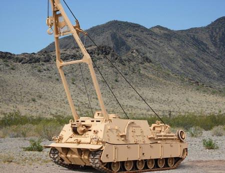 Бронированная ремонтно-эвакуационная машина БРЭМ M88