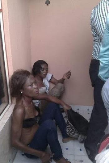 Chai!!! Two Notorious Female Thieves Terrorizing Akwa Ibom Residents Finally Nabbed (Photo)