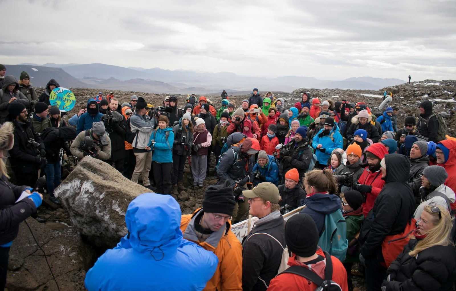Iceland Held A Funeral As A Warning For Its First Glacier That Was Lost To Climate Change