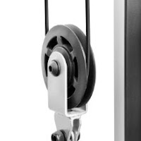 Pulley & sealed ball bearings on Marcy Diamond Elite Smith Cage