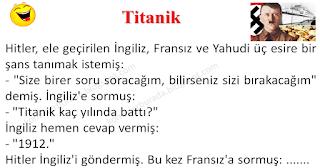 Titanik - Asker Fıkraları - Komikler Burada
