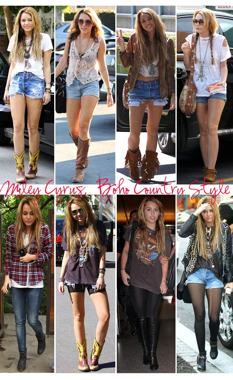 Style Inspiration: Miley Cyrus Edition