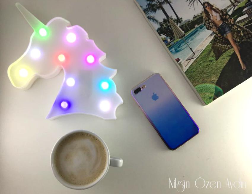 alışveriş-Tosave-hologramlı telefon kılıfı-unicorn gece lambası