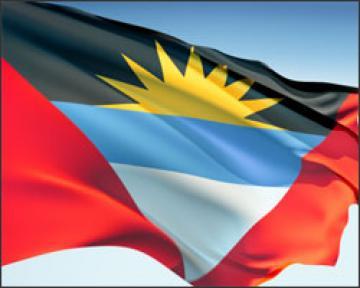 3d Broken Screen Wallpaper Graafix Flag Of Antigua And Barbuda