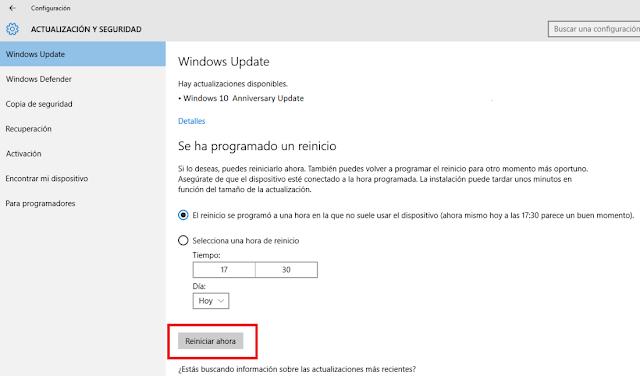 descargar Windows 10 aniversario