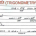 Trigonometry (Mathematics) Notes PDF for SSC/CDS/NDA