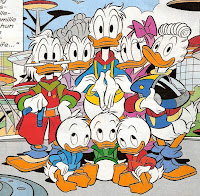 Donal Duck's Family